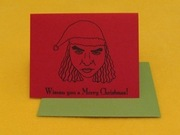 "<a href=""http://www.etsy.com/listing/54497262/wiseau-you-a-merry-christmas-the-room"">Tickets to local moviehouse tucked inside a Tommy Wiseau card by rhymeswithtwee (Etsy, $3)</a>"