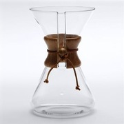 &lt;a href=&quot;http://amzn.to/eCtl3e&quot;&gt;Chemex 8-Cup Drip Coffee Caraffe (Amazon, $38.95)&lt;/a&gt;