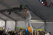 Rich Aucoin Crowdsurfs (Literally)