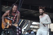 Alexander and Michael Franti