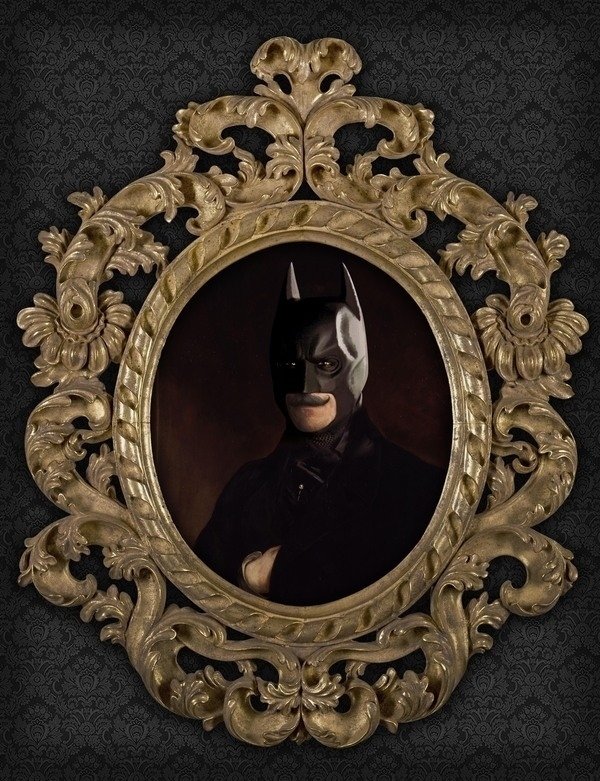 Artist Transforms 10 Superheroes Into 18th-Century Oil Paintings