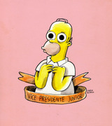 "10. ""Homer"" by Ciervo Blanco"