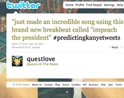 9. #PredictingKanyeTweets