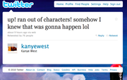 12. Actual Kanye Tweet