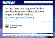 8. Actual Kanye Tweet