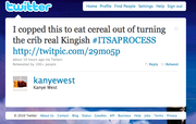 21. Actual Kanye Tweet