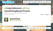 11. #PredictingKanyeTweets