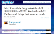 26. Actual Kanye Tweet