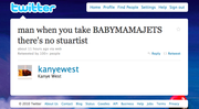 17. Actual Kanye Tweet