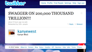 19. Actual Kanye Tweet