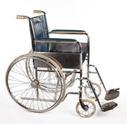 Locke's wheelchair