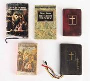 Desmond's books, including &lt;em&gt;Our Mutual Friend&lt;/em&gt;