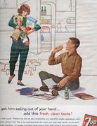 Actually, the plaid pants probably got him eating out of your hand. (1960s)