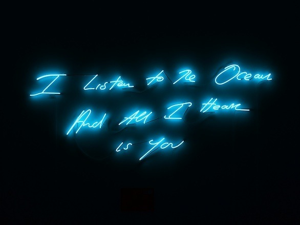 Tracey Emin's Neon Valentines Turn Times Square into Digital Art Gallery