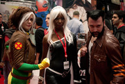 Rogue, Storm and Wolverine