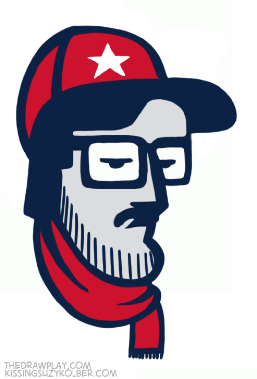 NFL Team Logos Imagined As If They Were Hipsters