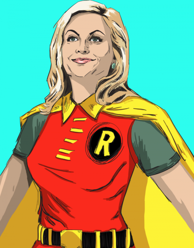<i>Parks and Rec</i> Characters Re-Imagined as Justice League Members