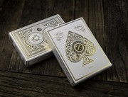 White Artisan Playing Cards | Simon Frouws