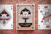 Bacon Playing Cards | Wesley Klein & David Goldklang