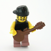 Carlos Santana by Lego builder Michael Jasper on Brickshelf.com.