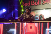 DJ Nu-Mark is the first headliner of the night at the second Red Bull Thre3style pre-qualifier.