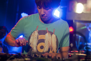 DJ Pandol at the second Red Bull Thre3style pre-qualifier.