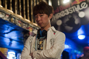 DJ Pandol from South Korea at Double Door for the Red Bull Thre3tyle DJ competition.