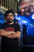 DJ Drummer from Chile won a spot in the World Finals during the Red Bull Thre3style competition at Double Door during day two of the pre-qualifiers.