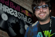 DJ Bmau from Bolivia competed in the third night of the Red Bull Thre3style pre-qualifier in Chicago, Ill.