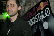 Nedu Lopes from Brazil competed in the third night of the Red Bull Thre3style pre-qualifier in Chicago, Ill.