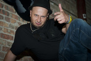 DJ Kostek from Poland competed in the third night of the Red Bull Thre3style pre-qualifier in Chicago, Ill.