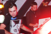 DJ Hedspin and Big Once headline the Red Bull The3style Welcome Party at Debonair Social Club.