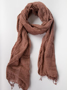 Etanesh Stripes Scarf by FashionAble | $36 | Keep out wind and cold with a chic medium-weight scarf.