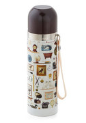 Flask From the Past Travel Bottle by ModCloth | $16.99 | Store hot or hold liquids in this nostalgic container.