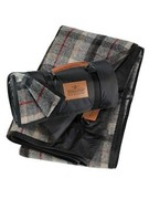 Roll-Up Blanket by Pendleton | $118 | Nylon-backed wool and a carrying strap make this the perfect takealong blanket.