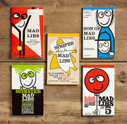 Mad Libs (Set of 5) by Restoration Hardware | $19 | Avoid boredom in the car with this classic game.