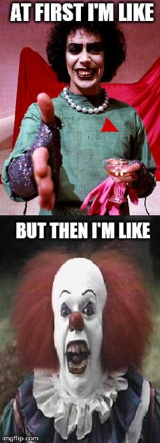 clown horror quotes