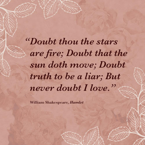 Love quotes from classic authors