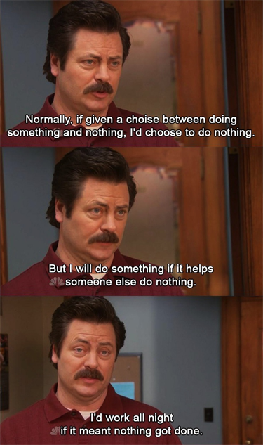 25 Perfect Ron Swanson Memes and Quotables :: TV ...