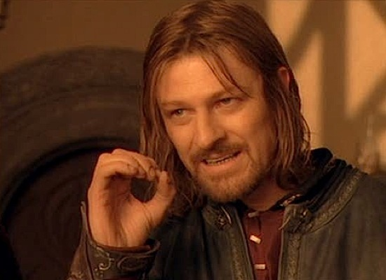 Lord Of The Rings One Does Not Simply Actor