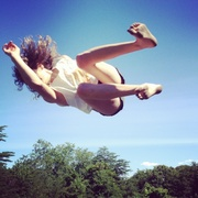 Day off in Asheville. We found a trampoline, caught air, took pictures, floated down the French Broad river and really got to hanging with The Mynabirds. Good day. 