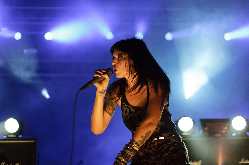 Sleigh Bells, Hot Chip Photos - Columbia, Md.
