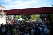 Courtyard C at the festival
