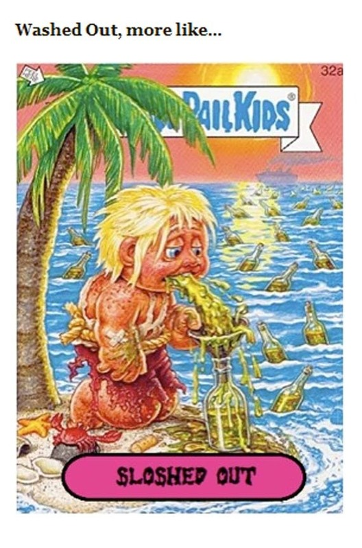 Garbage Pail Kids, Meet Indie Rock. Indie Rock, Garbage Pail Kids.