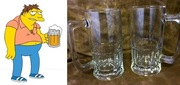 Barney's beloved beer mugs (Atimelesstouch, $15.00)