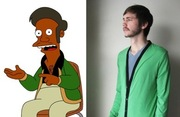 Apu's practical green cardigan (HackwithDesign, $44)