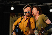 Billy Bragg and Amanda Palmer