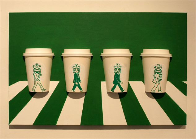 Coffee Cup Cartoons Reveal The Secret Life Of The