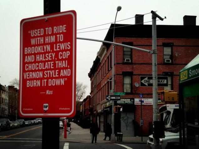 "Take a Walking Rap Tour of New York With The ""Rap Quotes"" Project"