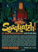 Sasquatch!, 2011, By Invisible Creature